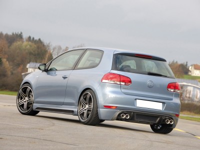 VW Golf 6 Vortex Rear Bumper Extension