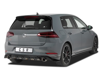 VW Golf 7 Citrix Rear Wing Extension