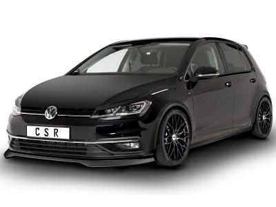 VW Golf 7 Facelift Cyber Front Bumper Extension