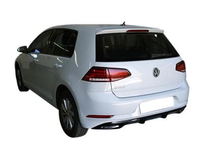 VW Golf 7 Facelift Meriva Rear Bumper Extension