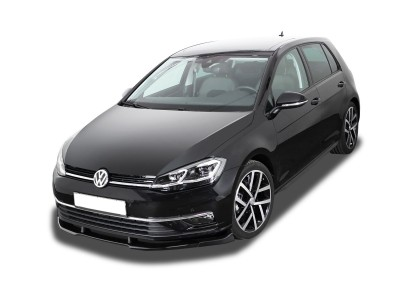 VW Golf 7 Facelift V3 Front Bumper Extension