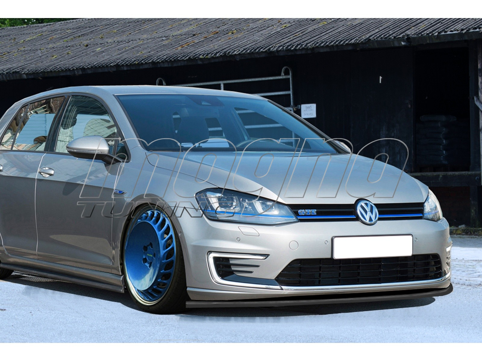 vw golf 7 gte i line front bumper extension. Black Bedroom Furniture Sets. Home Design Ideas