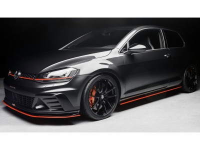VW Golf 7 GTI Clubsport Radius Front Bumper Extension