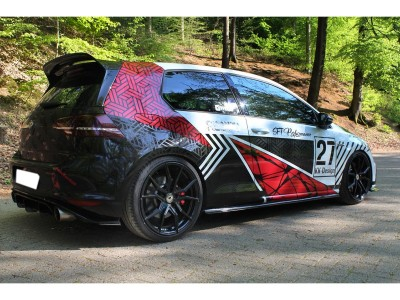 VW Golf 7 GTI Facelift Clubsport Extensie Bara Spate Matrix