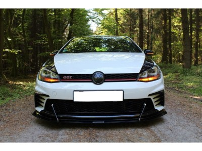 VW Golf 7 GTI Facelift Clubsport Matrix Front Bumper Extension