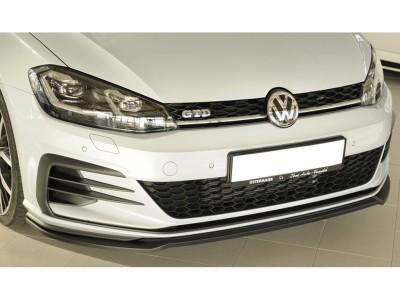 VW Golf 7 GTI Facelift Extensie Bara Fata Vector2