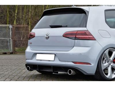 VW Golf 7 GTI Facelift Isota Rear Bumper Extension