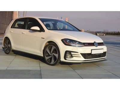 VW Golf 7 GTI Facelift Monor2 Front Bumper Extension