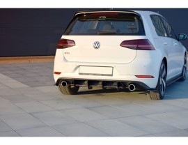 VW Golf 7 GTI Facelift R1 Rear Bumper Extension