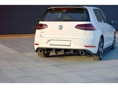 VW Golf 7 GTI Facelift R1 Rear Bumper Extension