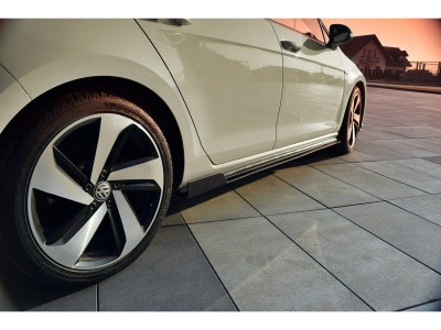 VW Golf 7 GTI Facelift R1 Side Skirts