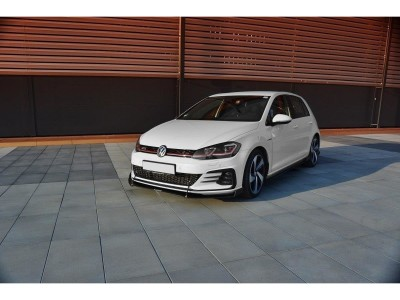 VW Golf 7 GTI Facelift R2 Front Bumper Extension