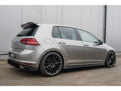 VW Golf 7 GTI M-Style Side Skirt Extensions