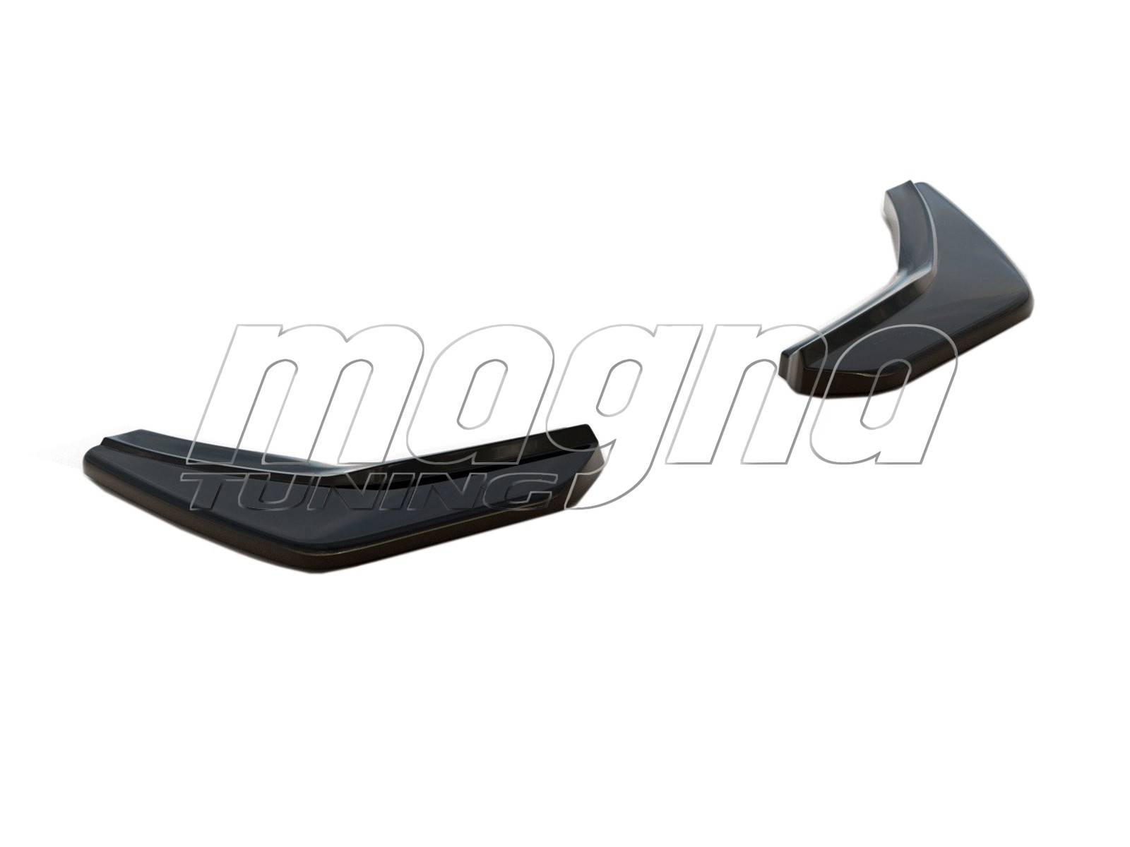 VW Golf 7 GTI M-Style2 Rear Bumper Extension