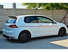 VW Golf 7 GTI Master Side Skirt Extensions