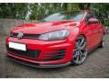 VW Golf 7 GTI RaceLine Carbon Fiber Front Bumper Extension