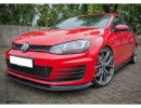 VW Golf 7 GTI RaceLine Carbon Fiber Front Bumper Extension
