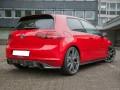 VW Golf 7 GTI RaceLine Carbon Fiber Rear Bumper Extension