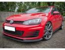 VW Golf 7 GTI RaceLine Carbon Frontansatz