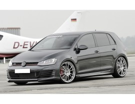 VW Golf 7 GTI Razor Front Bumper Extension