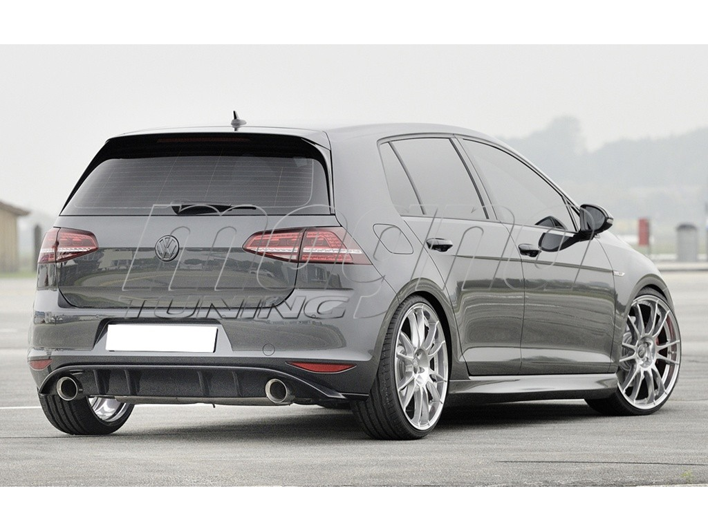 vw golf 7 gti razor rear bumper extension. Black Bedroom Furniture Sets. Home Design Ideas