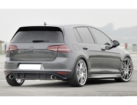 VW Golf 7 GTI Razor Rear Bumper Extension