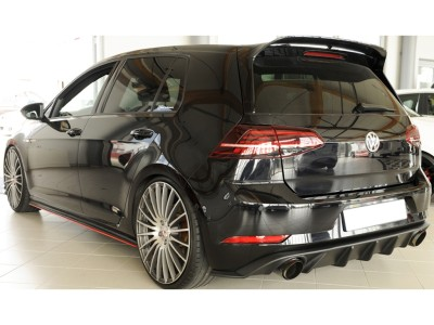 VW Golf 7 GTI Retina Rear Bumper Extension