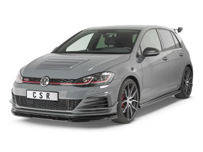 VW Golf 7 GTI TCE Cryo Front Bumper Extension