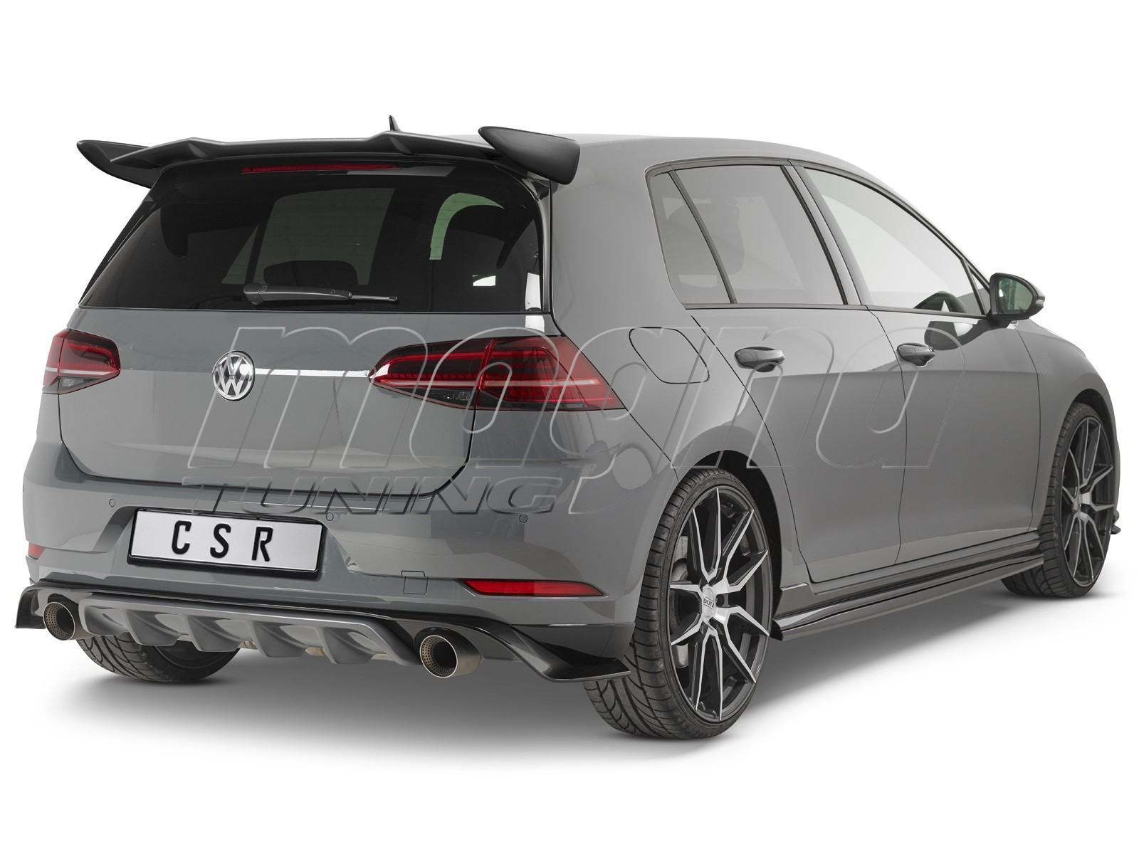 VW Golf 7 GTI TCE Facelift Cryo Rear Bumper Extension