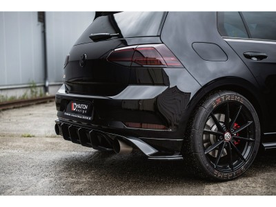 VW Golf 7 GTI TCR DTM Rear Bumper Extension