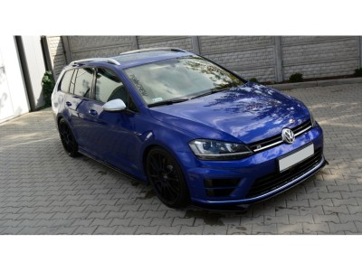 VW Golf 7 R Extensie Bara Fata Matrix Fibra De Carbon