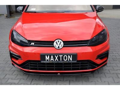 VW Golf 7 R Facelift Monza Front Bumper Extension