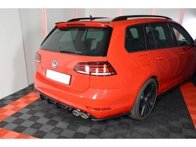 VW Golf 7 R Facelift Monza Rear Bumper Extension