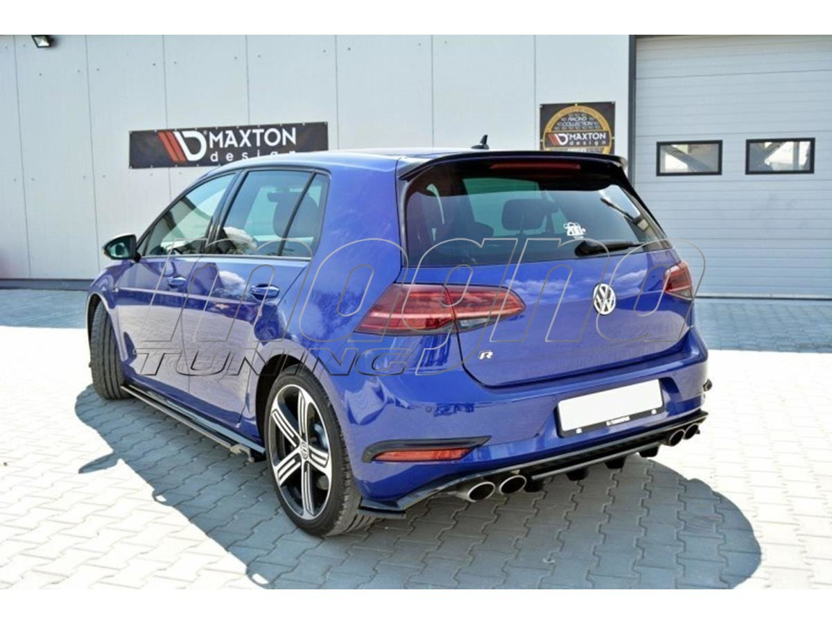 vw golf 7 r facelift nexus rear bumper extension. Black Bedroom Furniture Sets. Home Design Ideas