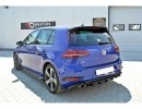 VW Golf 7 R Facelift Nexus Rear Bumper Extension