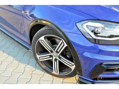 VW Golf 7 R Facelift Nexus Seitlichen Verbreiterungen