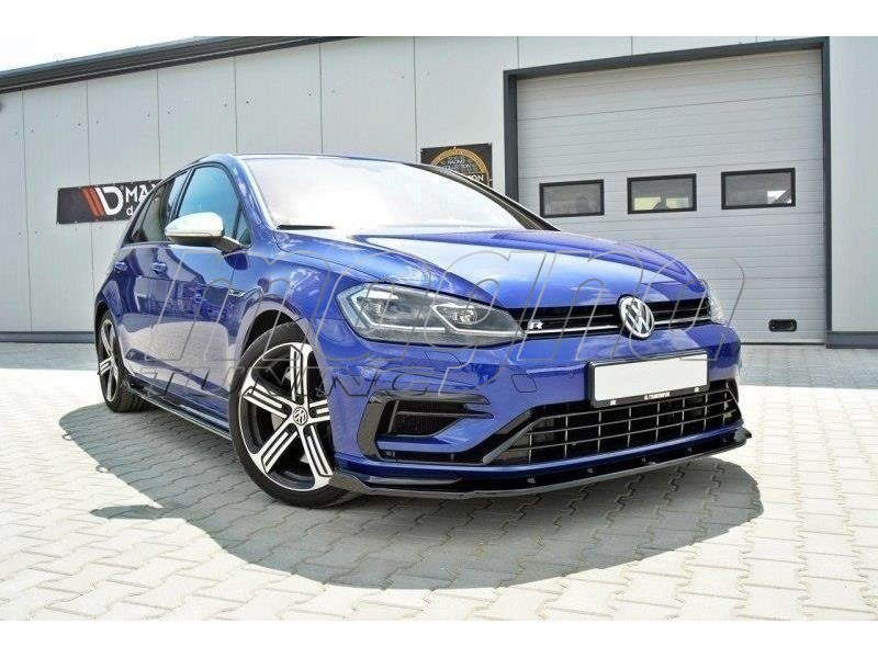 vw golf 7 r facelift nexus1 front bumper extension. Black Bedroom Furniture Sets. Home Design Ideas