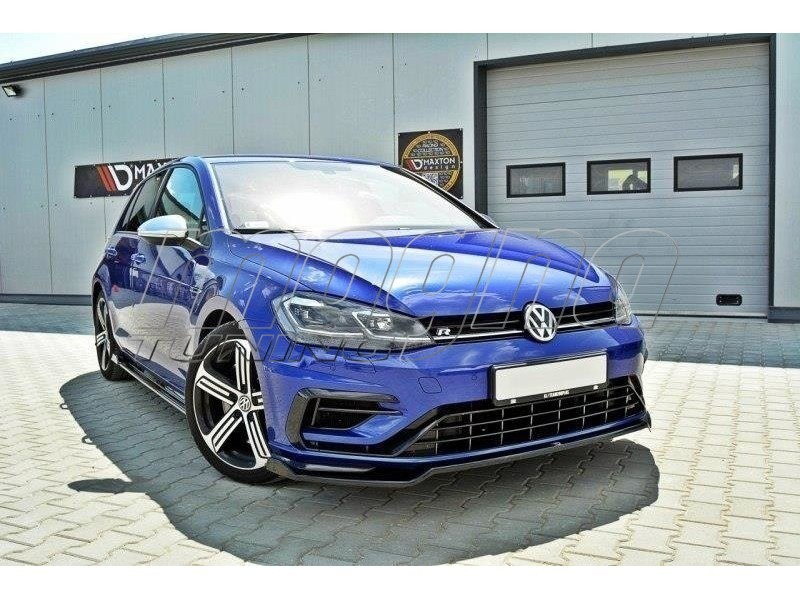 vw golf 7 r facelift nexus2 front bumper extension. Black Bedroom Furniture Sets. Home Design Ideas