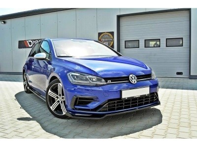 VW Golf 7 R Facelift Nexus2 Front Bumper Extension