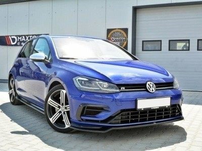 VW Golf 7 R Facelift Nexus3 Front Bumper Extension