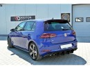 VW Golf 7 R Facelift Racer Rear Bumper Extension