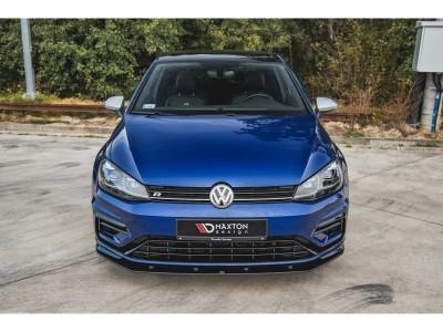 VW Golf 7 R Facelift Racing Front Bumper Extension