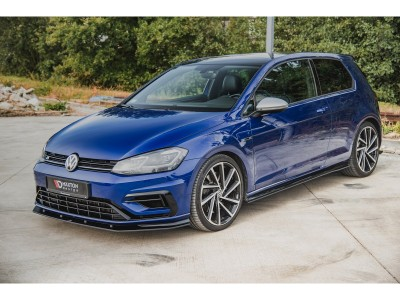 VW Golf 7 R Facelift Racing Side Skirt Extensions