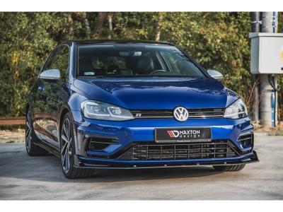 VW Golf 7 R Facelift Racing2 Front Bumper Extension