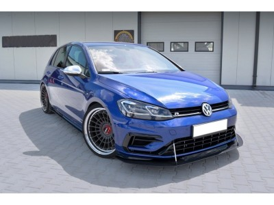 VW Golf 7 R Facelift Radix Front Bumper Extension