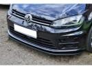 VW Golf 7 R-Line I-Tech Front Bumper Extension