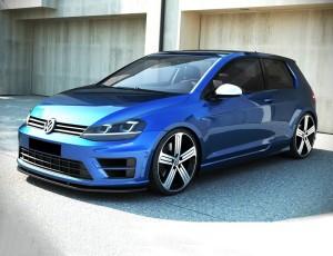 VW Golf 7 R MX Front Bumper Extension