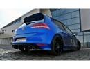 VW Golf 7 R MX Rear Bumper Extension
