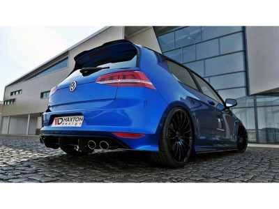 VW Golf 7 R MX Rear Bumper Extension