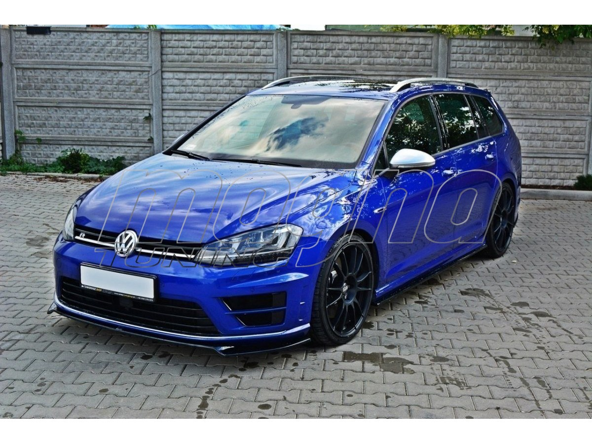 vw golf 7 r mx2 front bumper extension. Black Bedroom Furniture Sets. Home Design Ideas